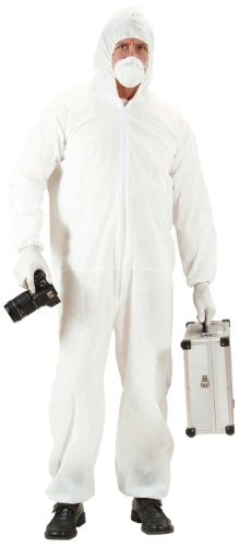 Crime Scene Investigator Costume Extra Large For Police Policeman Fancy Dress]()