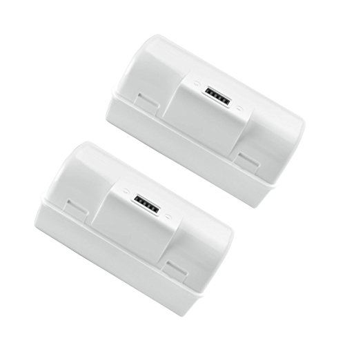 Bonacell 2 Pack 3.6V 6000mAh High Capacity Lithium-ion Replacement Battery for iRobot Braava Jet 240 Floor Mopping Robots