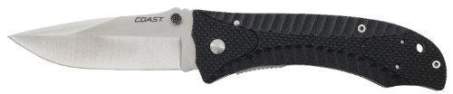 Coast DX345 Coast Dx345 Double Lock Folding Knife 3.5-Inch - Tactical Knives Coast