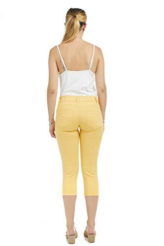 Suko Jeans Women's Denim Capris - Pull On – Stretch 17