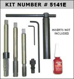 Big-SERT M14x1.25 Spark Plug KIT Extended with Assorted Inserts P//n 5141E-469