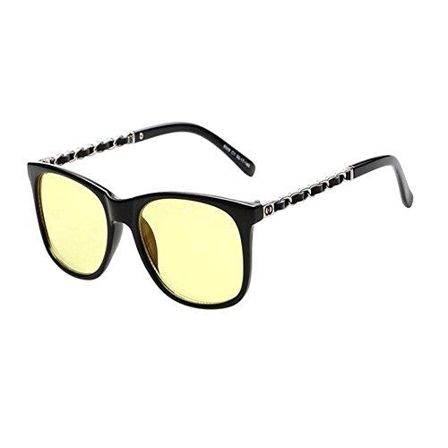 Mujer Clásico Computadora Eyewear Filtro de Fatiga Anti luz Moda Claro Lente Gafas Xinvision Vintage Negro Hombre azul Proteccion PqgaAwnEZ