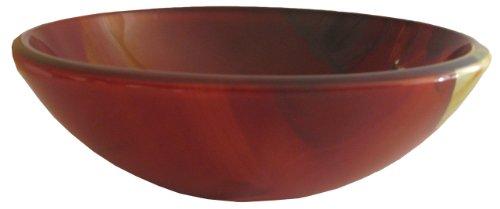 Novatto ASIATICO Glass Vessel Bathroom Sink Set, Oil Rubb...