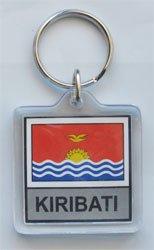 Kiribati - Country Lucite Key