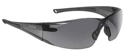 Bolle Smoke Safety Glasses, Anti-Fog, Scratch-Resistant, ()