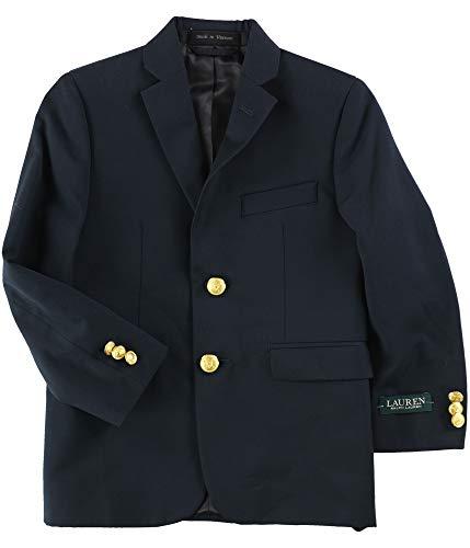 Ralph Lauren Boys Two-Button Suit Blazer, Blue, 7 / W x L ()