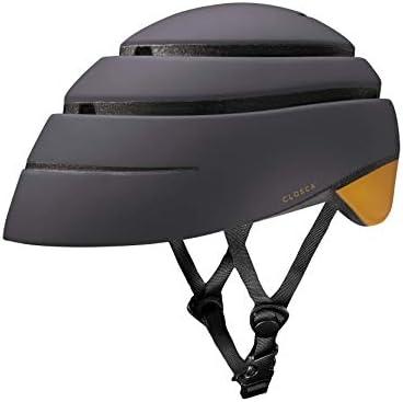 Closca Casco Helmet Loop_ Casco de Bicicleta Unisex Adulto (Negro ...