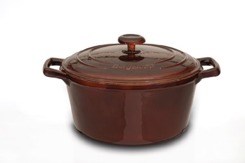 Enameled Italian Kitchen Dutch Oven - BergHOFF Neo Cast 2.5-Quart Covered Casserole