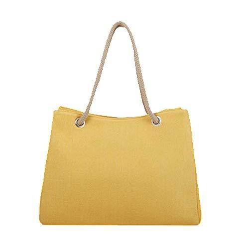 para única Bolso mochila Amarillo mujer talla MENGMA qUzEwav