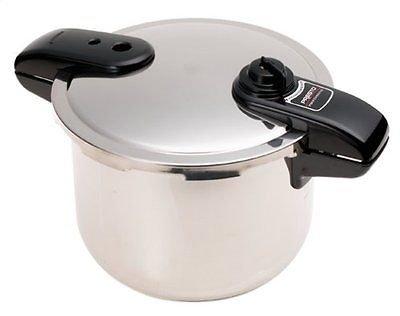 Brand New Presto 1370 8 Quart Stainless Steel Pressure Cooker/canner (01370)
