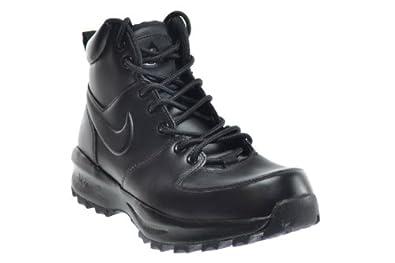 d43c9ae346 Amazon.com | Nike Manoa Leather Men's Boots Black 454350-003 | Hiking Boots