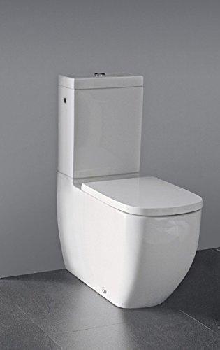 Bekannt Laufen Palomba Stand-WC weiß, für Kombination mit aufgesetztem QC07