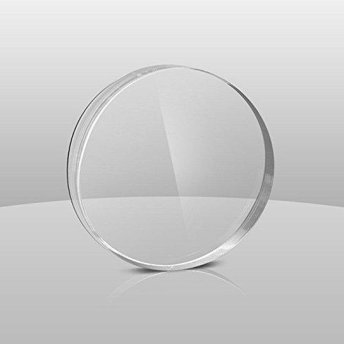 ACRYLIC CLEAR PLEXIGLAS PLASTIC SHEET ROUND CIRCLE DISC - 10