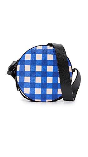 Diane von Furstenberg Women's Circle Bag, Cossier Klein Blue/Black, One Size