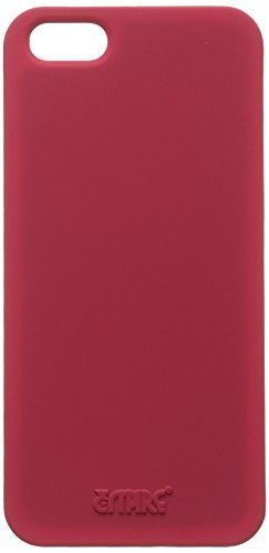 EMPIRE KLIX Slim-Fit Harte Case Tasche Hülle for Apple iPhone 5 / 5S - Soft Touch Hot Pink Rosa (Dis