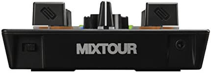 Reloop Mixtour DJ Controller for IOS, Android, Mac & PC with Integrated 4  Channel Audio Interface, Two Deck Control, Dual FX Mode