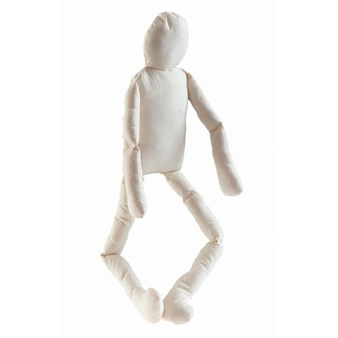 "12 ""Tall Stuffed Muslin Craft Dolls"