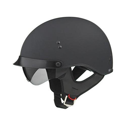 - GMax GM65 Full Dress Flat Black Half Helmet - Medium