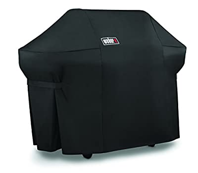 Weber 7108 Grill Cover with Storage Bag for Summit 400-Series Gas Grills