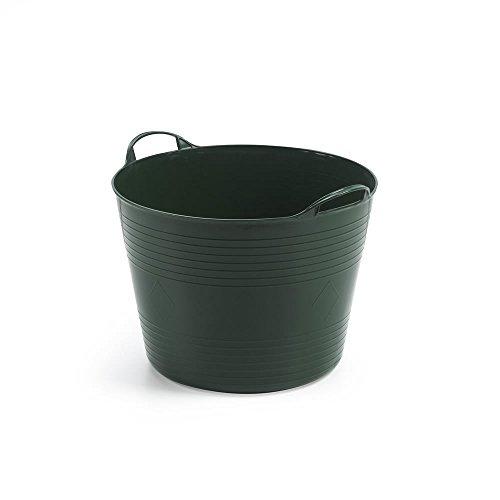 Mehrzweckkorb für 42 Liter mit Füllstandsanzeige, flexibel und strapazierfähig - Farbe: Grün