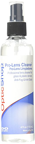 Optic Shop Professional Lens Cleaner (for Glass or Plastic Lenses), 4 - Plastic Lenses Glasses