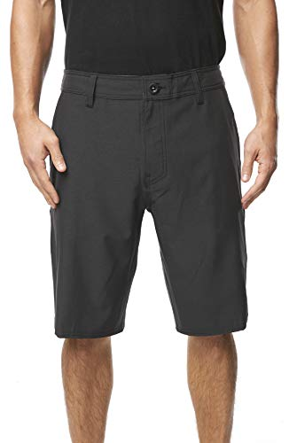 Clothing Black Walkshort - O'Neill Men's Water Resistant Hybrid Walk Short, 21 Inch Outseam (Black/Reserve, 44)