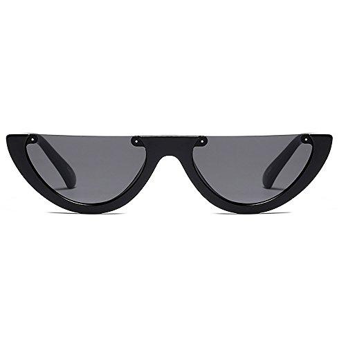 d9c109fe1c Mujeres de medio marco Gafas de sol Ojo de gato Brand Designer Fashion  Eyewear 30%