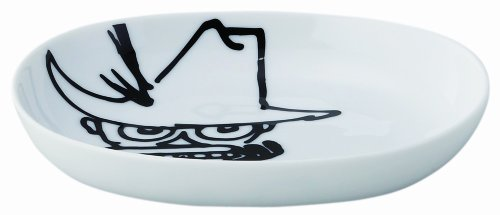 MOOMIN Moomin Bob foundation series 14 oval dish Snufkin ()