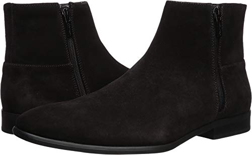 (Calvin Klein Men's Luciano Ankle Boot, Dark Brown Calf Suede, 13 M)