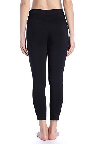 Lápiz Vaqueros De Huixin Schwarz Stretch Moderno Leggings Recortados Las Ripped Pantalones Flaco Cintura Estiramiento Alta Mujeres Casuales qPPr5t