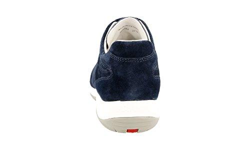Prada Dames 3e5793 Lederen Sneaker