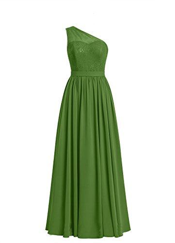 New Womens Moss Green Dress - 2