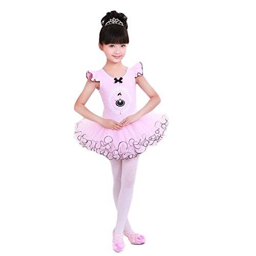 Ballet Dress/Toddler Sling Ballet Skirt/Soft Swan Lake Costumes (Swan Ballet Costume)