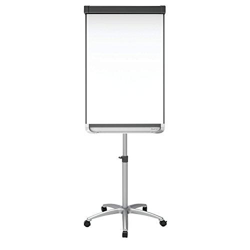 Quartet Easel, Magnetic Whiteboard/Flipchart, 3' x 2', Prestige 2 Mobile Presentation, Graphite (ECM32P2) by Quartet