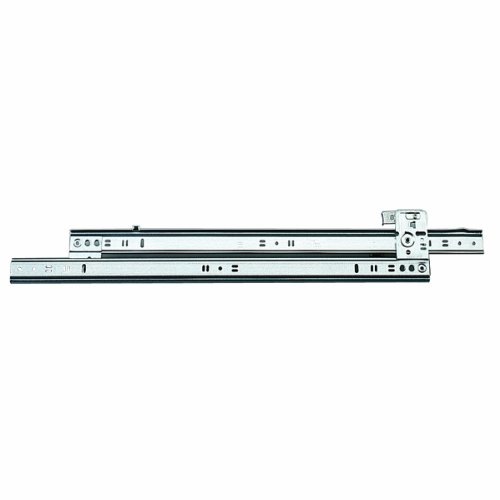 Knape & Vogt 1260P 12 Side Mount Full Extension Drawer Slide, 12-Inch, Pair