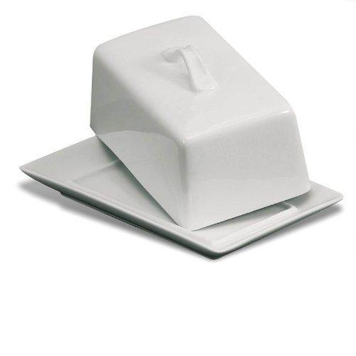 Danesco White Porcelain Covered Butter ()