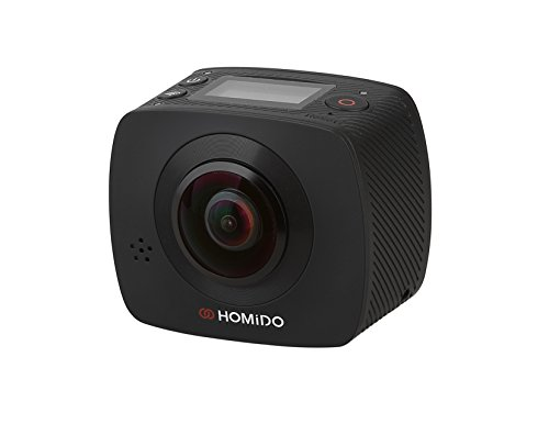 Homido HOMICAM1 360 Degree Panoramic VR Camera with Dual ...