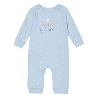 e97b7c428b3a bluezoo Kids Baby Boys  Blue Star  Little Prince  Print Cotton ...