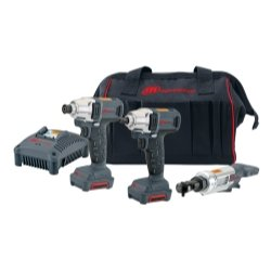 Ingersoll-Rand (IRTIQV12302) 3 Pc. 12V Cordless-Impactool, Driver, Ratchet Kit by Ingersoll-Rand