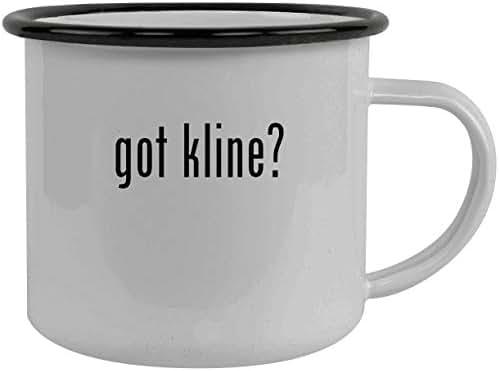 got kline? - Stainless Steel 12oz Camping Mug, Black