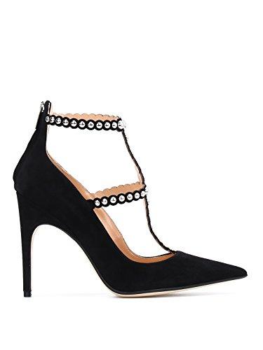 Noir Femme Sergio Rossi Escarpins A78460MAF3081498110 Suède FUvtcaq50w