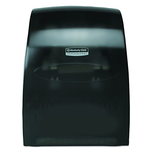 Kimberly-Clark Professional 09996 Sanitouch Hard Roll Towel Dispenser, 12 63/100w x 10 1/5d x 16 13/100h, Smoke Kimberly Clark Paper Dispenser