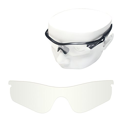 OOWLIT Replacement Sunglass Lenses for Oakley RadarLock Path HD - Clear Oakley Radarlock Lenses