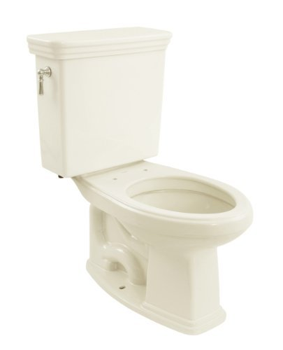 (TOTO CST424SF#11 Promenade G-Max Ada Elongated Bowl and Tank, Colonial White)