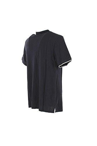Contrasto rich Polo Woolrich Blu Uomo Collo Mezza Scuro By Regular Manica Penn Wypol0028 t0Zqw0
