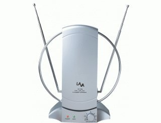 Lava HD-468 Indoor HDTV Antenna 50 Mile Receiving Range (Lava Indoor Tv Antenna)