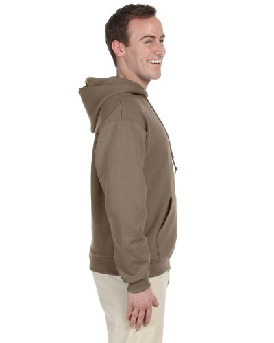 JERZEES Mens NuBlend Pullover Hooded Sweatshirt, Large, Safa