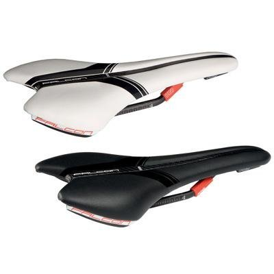 PRO Falcon Carbon Race Bicycle Saddle PRSA00-FC (White/Black 132mm) [並行輸入品] B075K5P66G