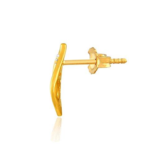 Giantti Diamant Pendentif Femme Collier (0,03CT, qualité HSI, Gh-colour)