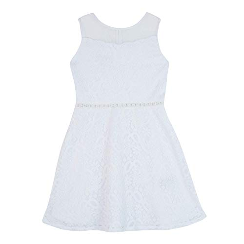 Amy Byer Girls' Big Fit & Flare Illusion
